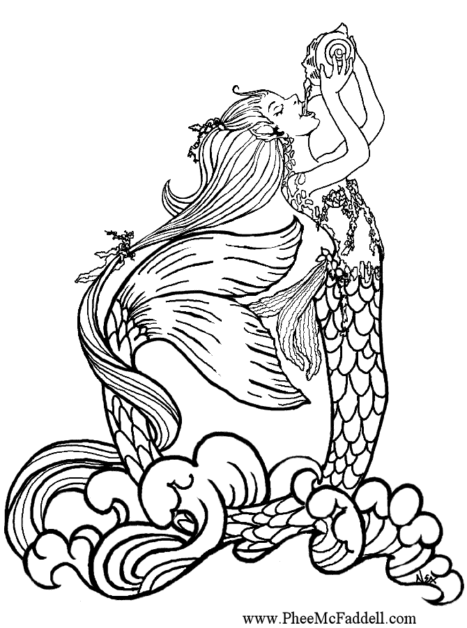 Mermaid Mermaid Coloring Pages Mermaid Coloring Coloring Pages