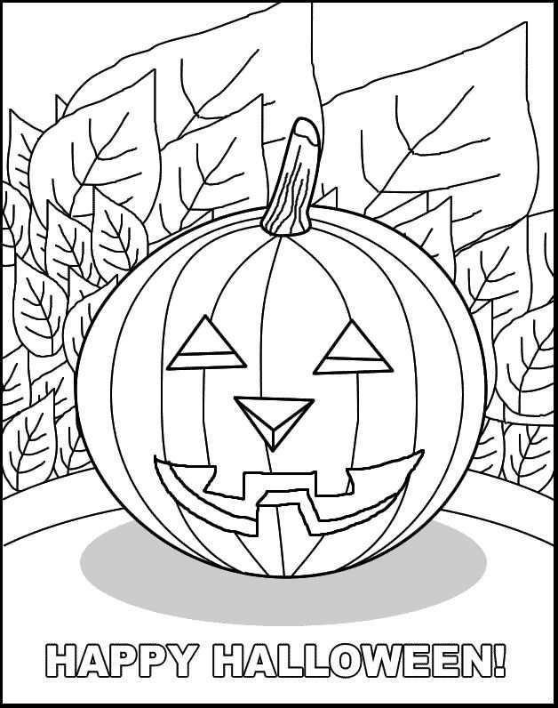 Kleurplaten En Zo Kleurplaat Van Halloween Halloween Kleurplaten Thema