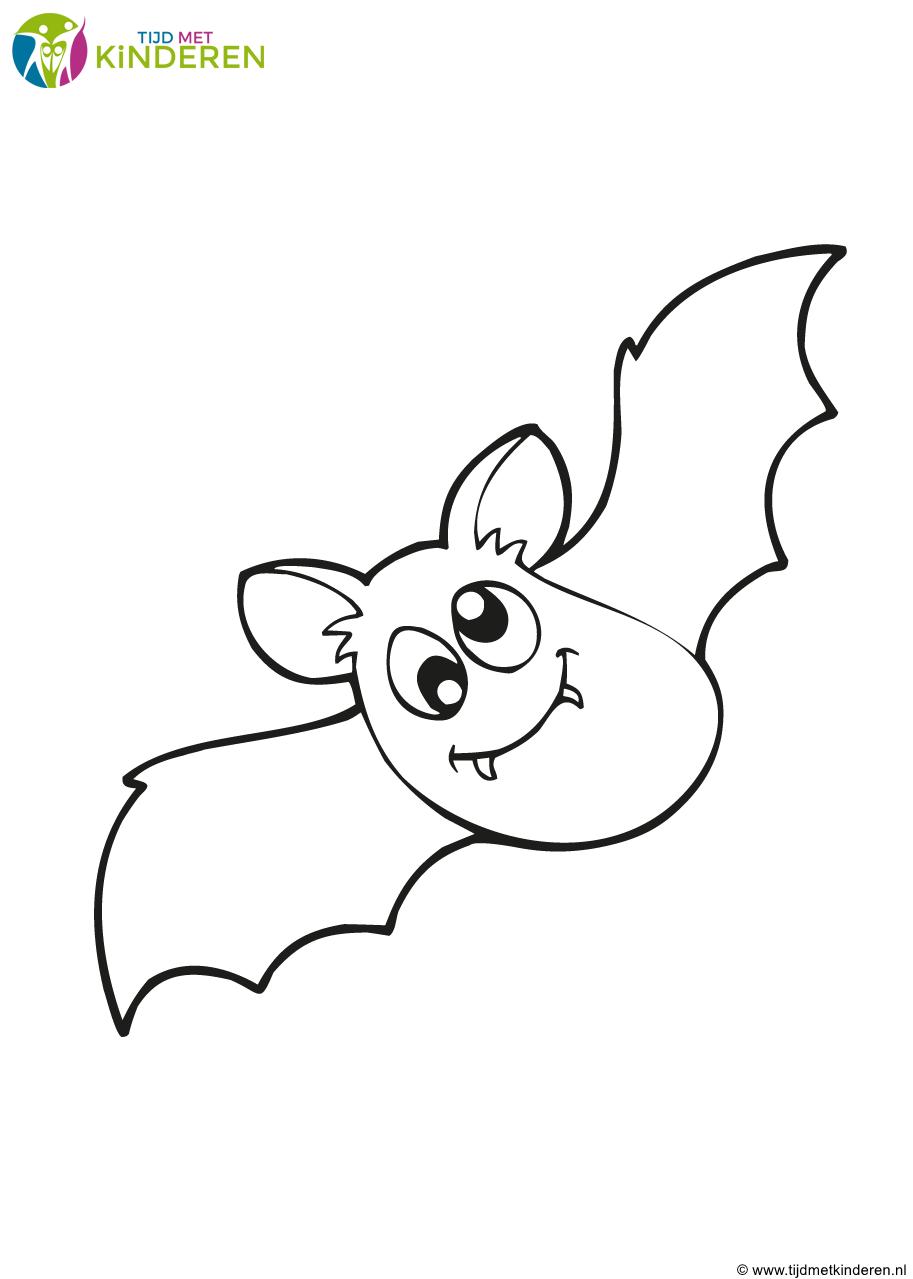 Kleur Vleermuis Kleurplaat Spannende Halloween Kleurplaten O Heksen En Spoken Vleermuis Kleurplaat Gratis Vampier V Abeeralmb Kleurplaten Vampier Halloween