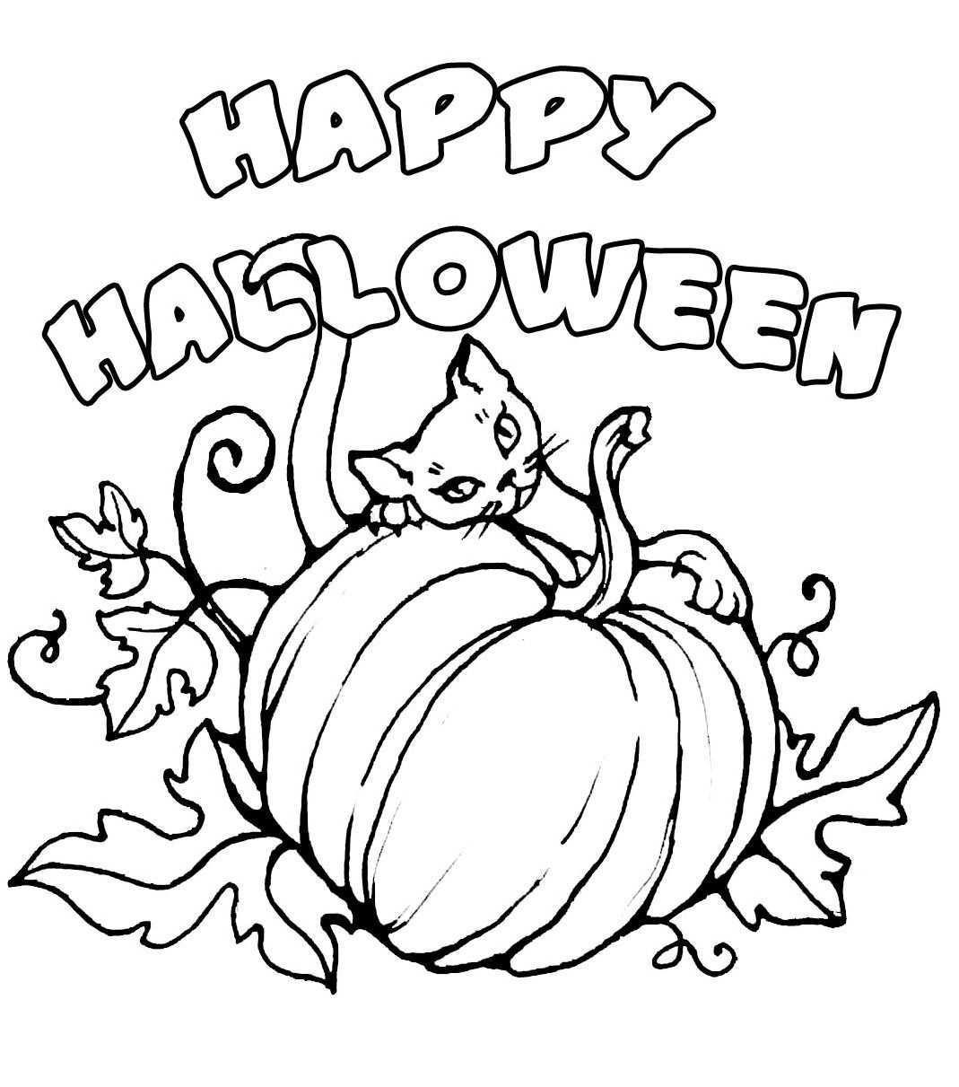 Halloween Colorings Herfst Halloween Halloween Kleurplaten