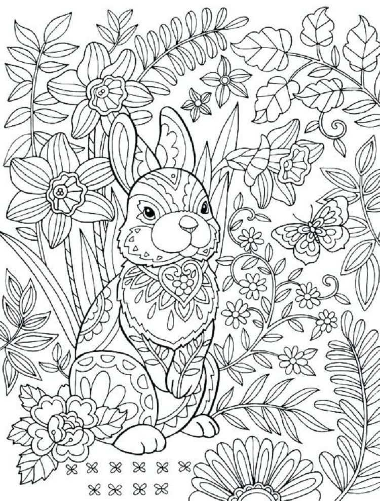 Hard Rabbit Coloring Pages Bunny Coloring Pages Free Easter Coloring Pages Easter Coloring Pages Printable