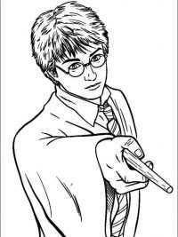 Harry Potter Lettertype Kleurplaten Harry Potter Tekeningen