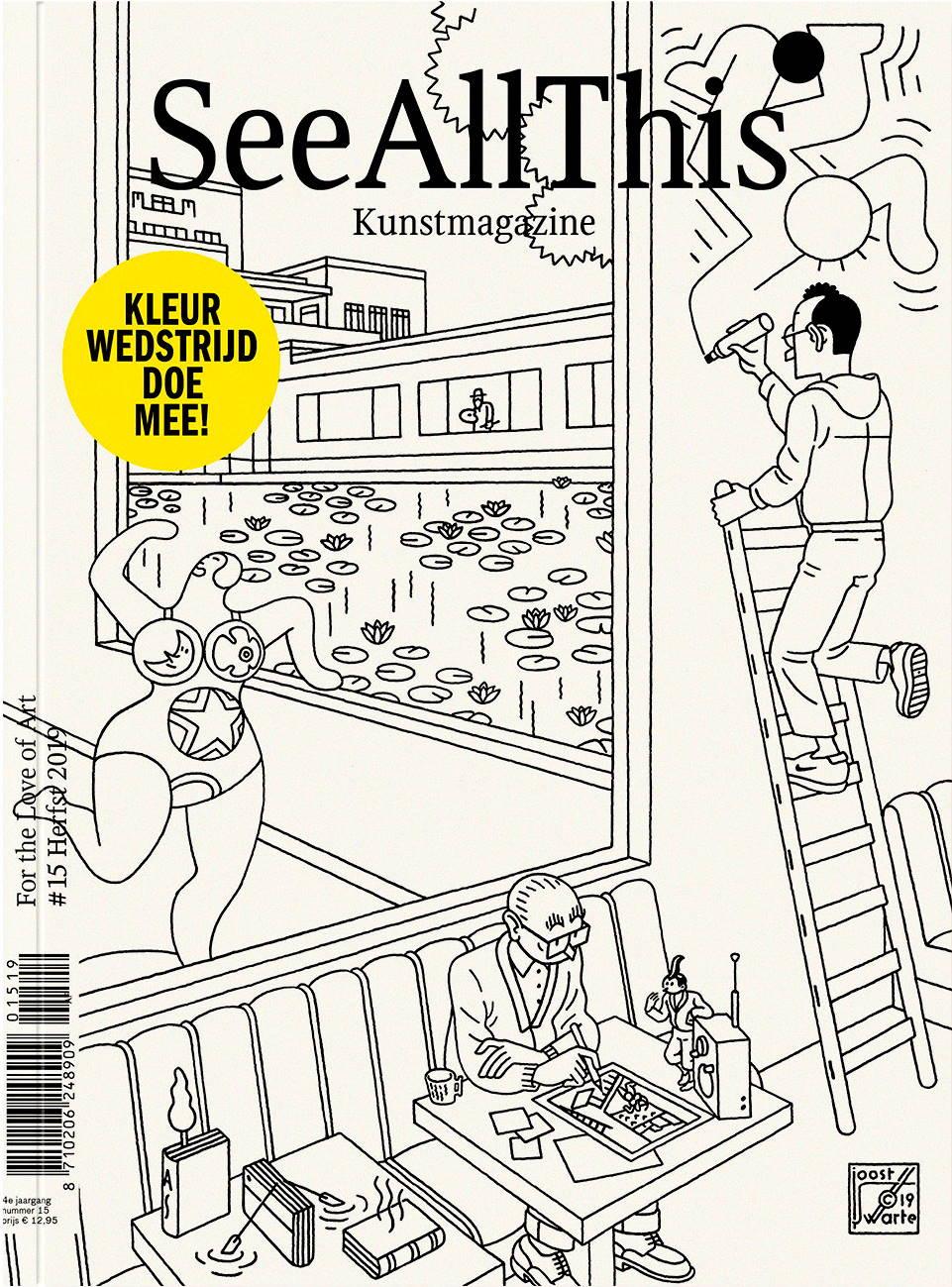 Pin Op Joost Swarte Dutch Comic Artist