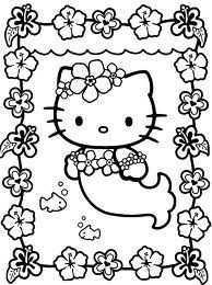 Kleurplaten Hello Kitty