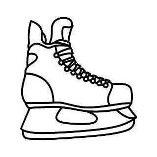 Hockey Skate Google Search Ishockey Tegninger