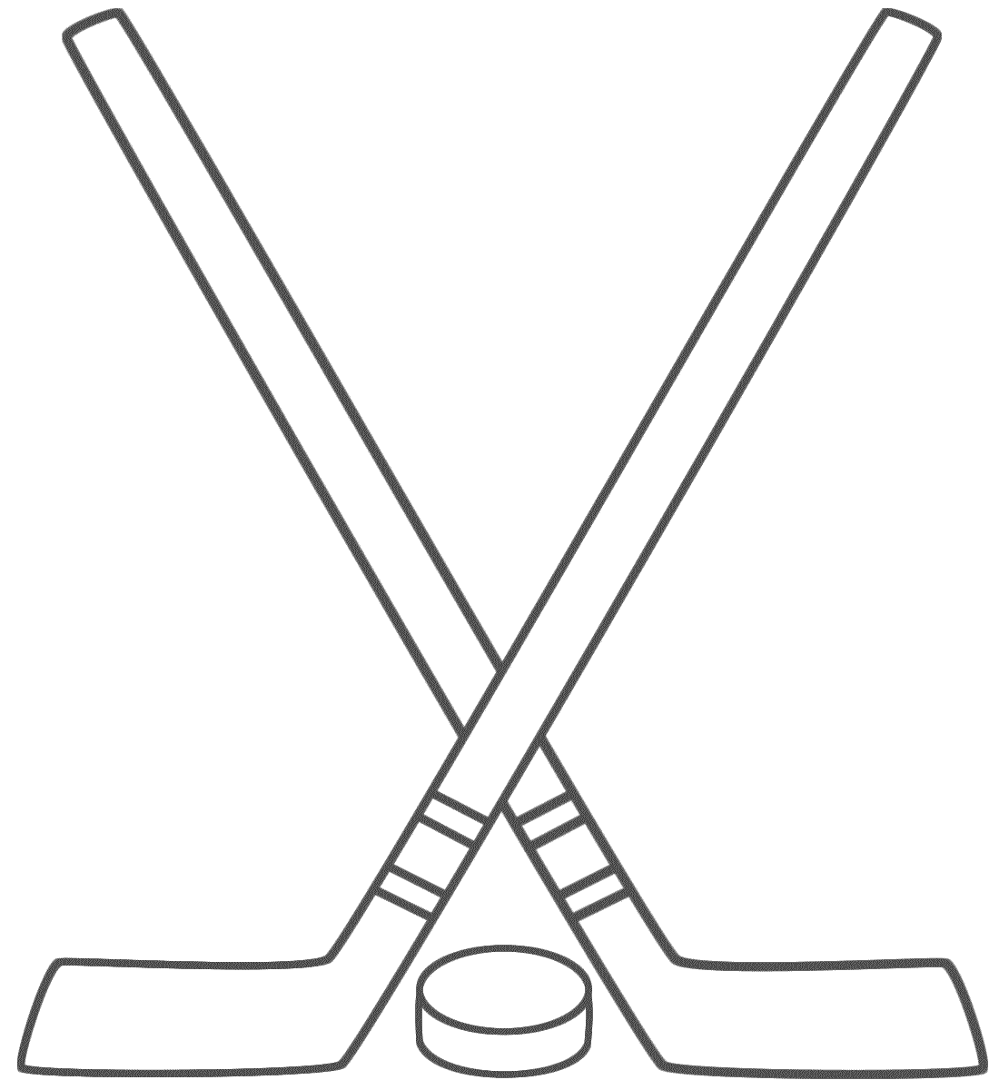 Pix For Hockey Sticks And Puck Clipart Hockey Stick Hockey Cakes Hockey Kids