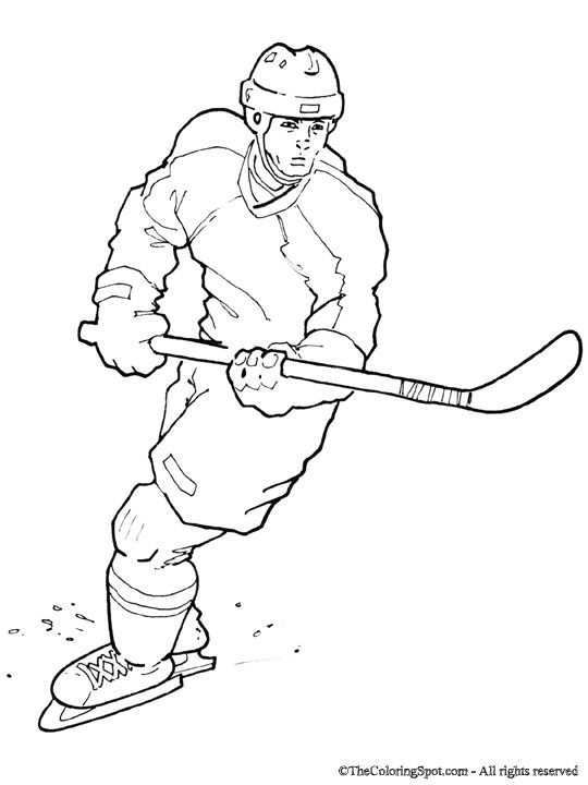 Nhl Players Colouring Pages Hockey Crafts Hockey Drawing Hockey Players