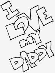 Afbeeldingsresultaat Voor Kleurplaten I Love You Knutselen Voor Vaderdag Vaderdag Kleurplaten