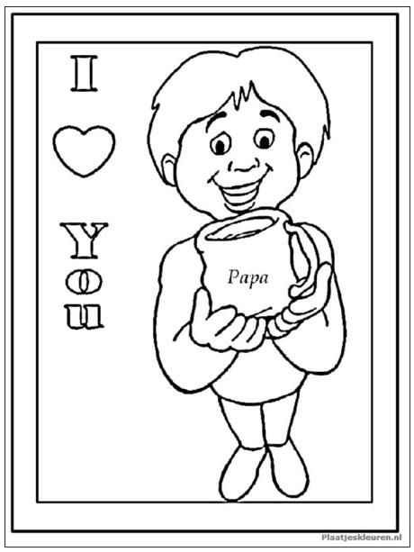 Pin Van Schoolvereniging Rehoboth Op Vaderdag Kleurplaten Gratis Kleurplaten Alfabet Kleurplaten Vaderdag