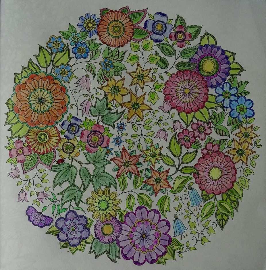 Kleurplaat Zeeland Op Foto Mijn Geheime Tuin Kleurplaat Voor Volwassenen Ingekleurd Kleurplaten Kleurboek Geheime Tuin