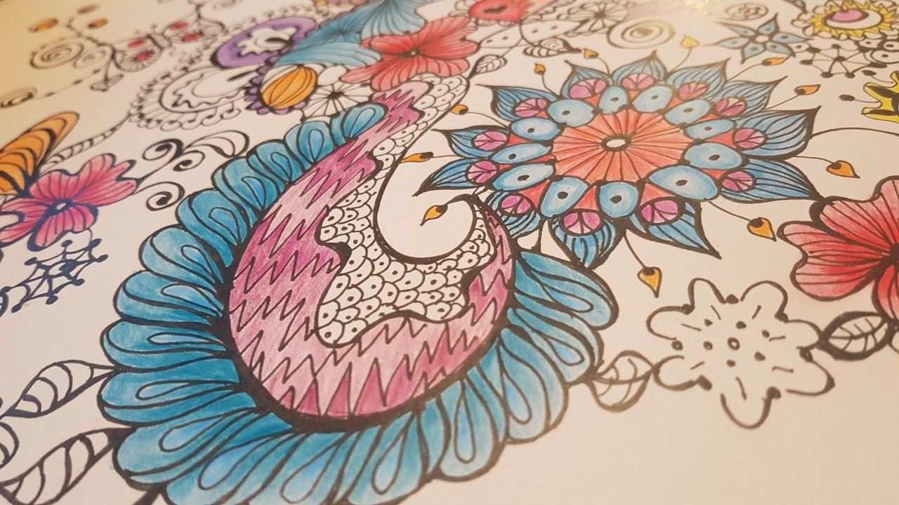 Detail Ingekleurde Kleurplaat Bijzonder Kleurboek 1 Kleurboek Kleurplaten Kleuren
