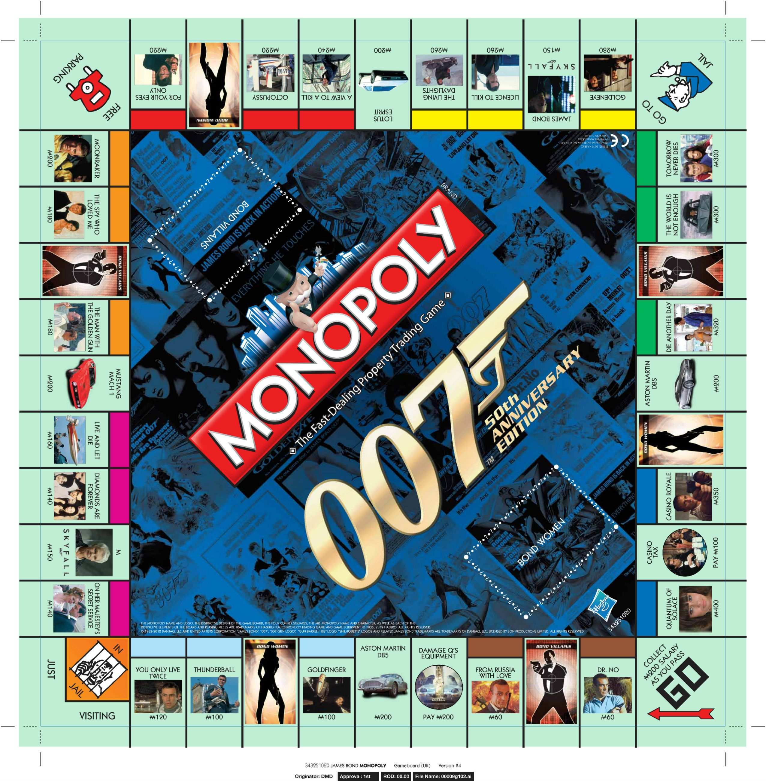 Kleurplaten James Bond 007