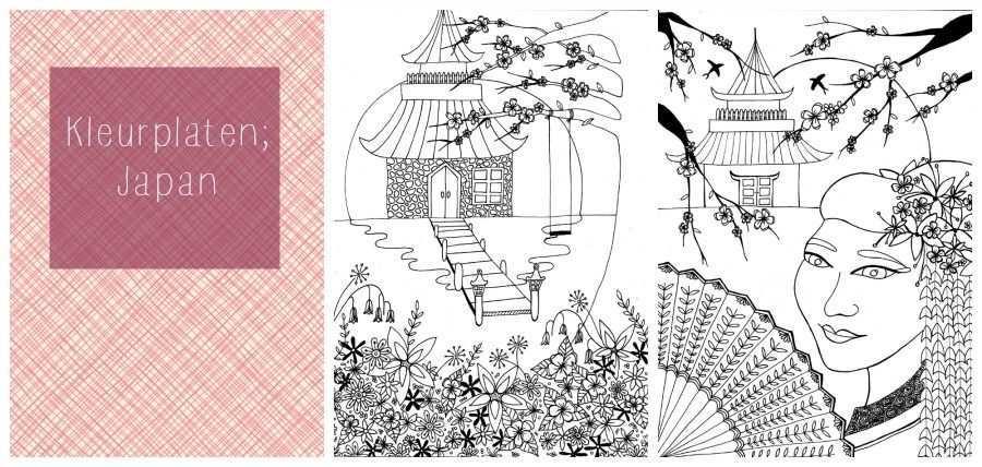 Kleurplaten Voor Volwassenen Japan Mama Maai Japan Kleurplaten Kleurplaten Voor Volwassenen