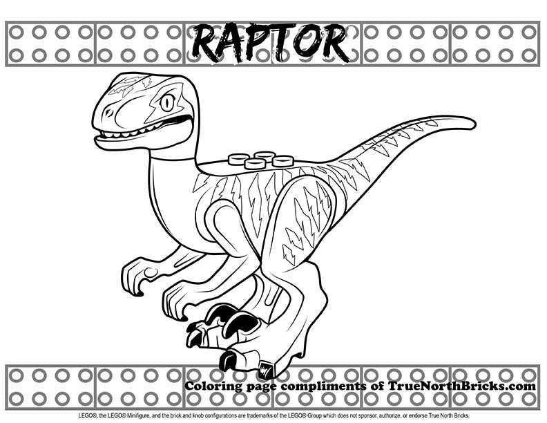 Coloring Raptor True North Bricks Lego Coloring Pages Coloring Pages Lego Coloring