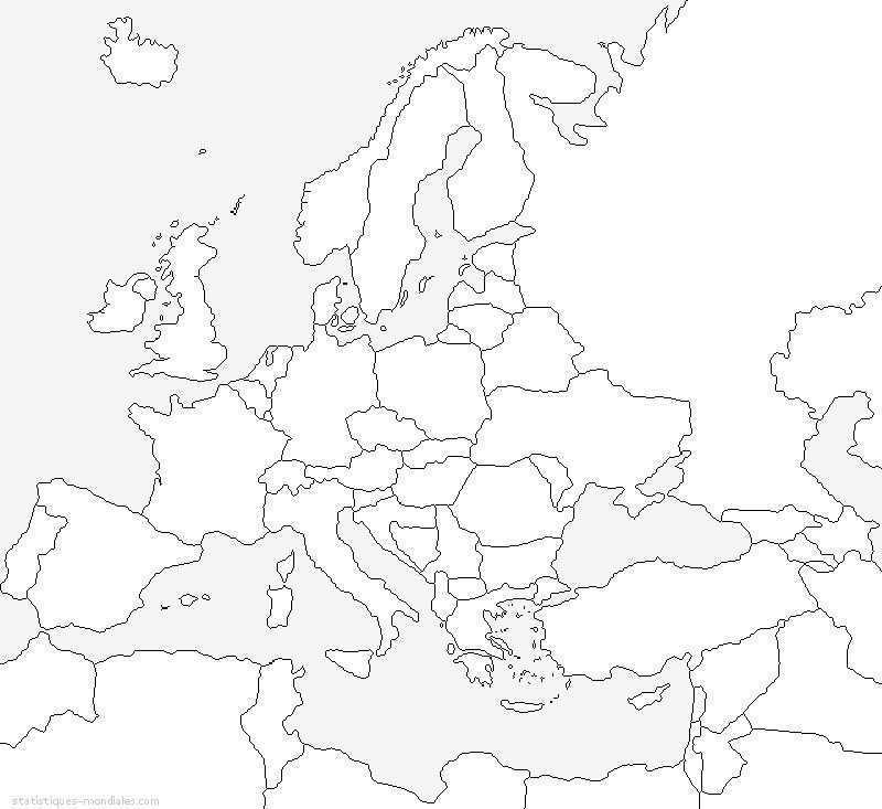 Kaart Van Europa Kaarten Europa Aardrijkskunde