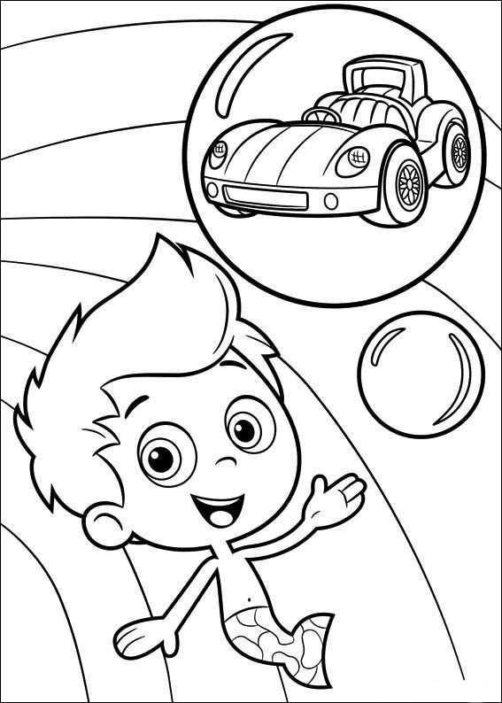 Bubble Guppies Kleurplaten 6 Kleurplaten Bubbel Guppies Kleurplaten Voor Kinderen