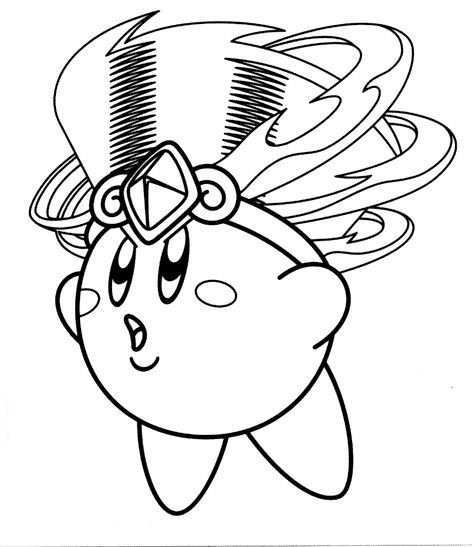 Kirby With Headdress Coloring Page 5 Coloriage Pokemon A Imprimer Coloriage Pokemon Coloriage