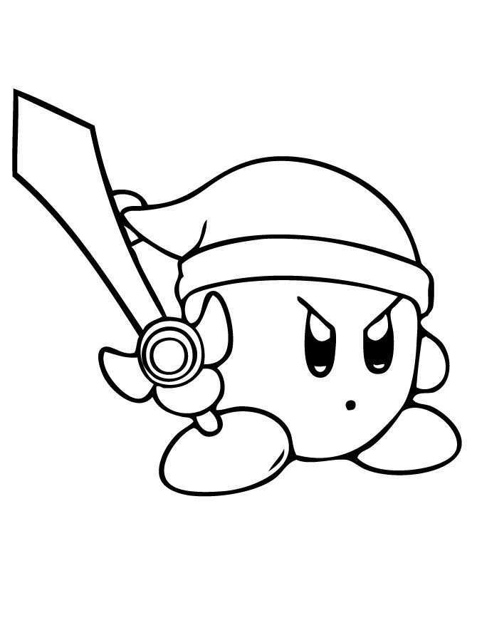 Free Printable Kirby Coloring Pages For Kids Cartoon Coloring Pages Coloring Pages Coloring Pages For Kids