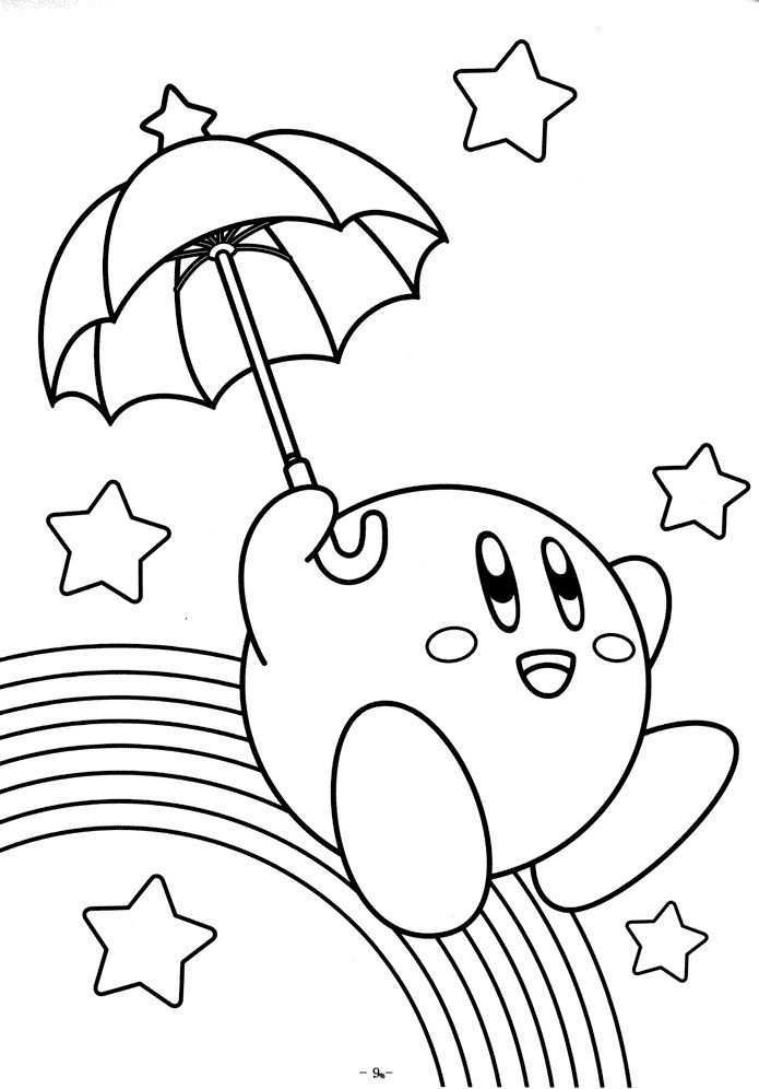 Free Printable Kirby Coloring Pages For Kids Free Coloring Pages Disney Coloring Pages Coloring Pages For Kids
