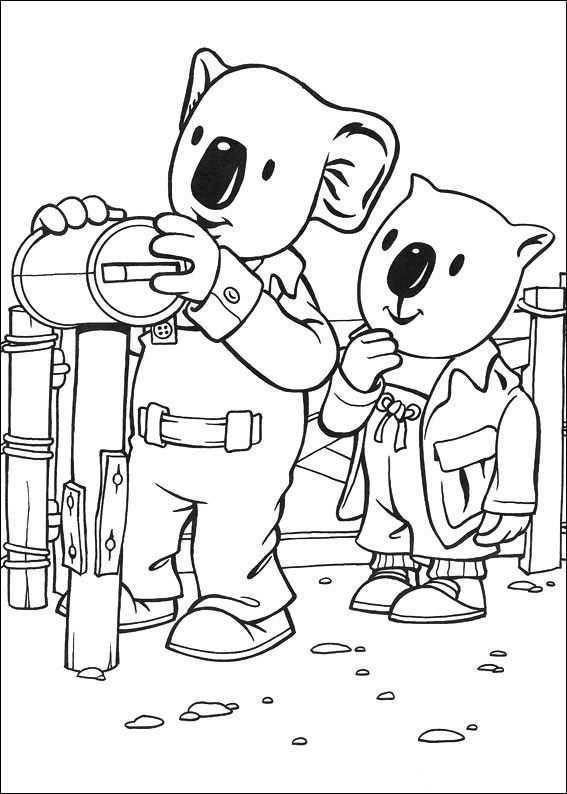 Koala Brodrene Fargelegging Tegninger 26 Fargelegging Fargeleggingsark Koala