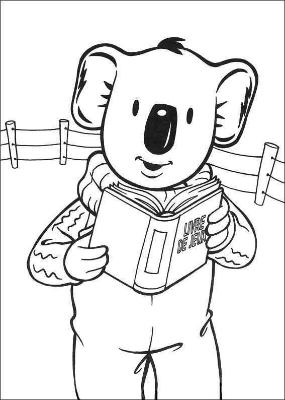 Koala Brodrene Fargelegging Tegninger 31 Kleurplaten Voor Kinderen Kleurplaten Kleurboek