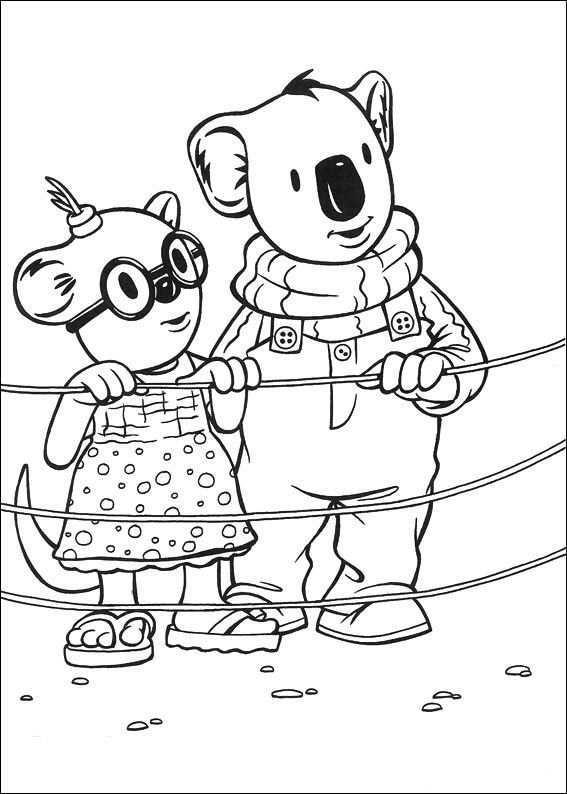 Koala Brodrene Fargelegging Tegninger 23 Fargelegging Koala Tegninger