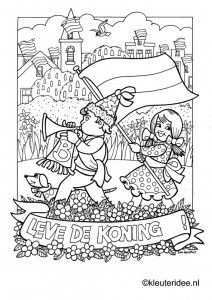 Kleuteridee Ben Horsthuis Kleurplaten Kleurboek Thema