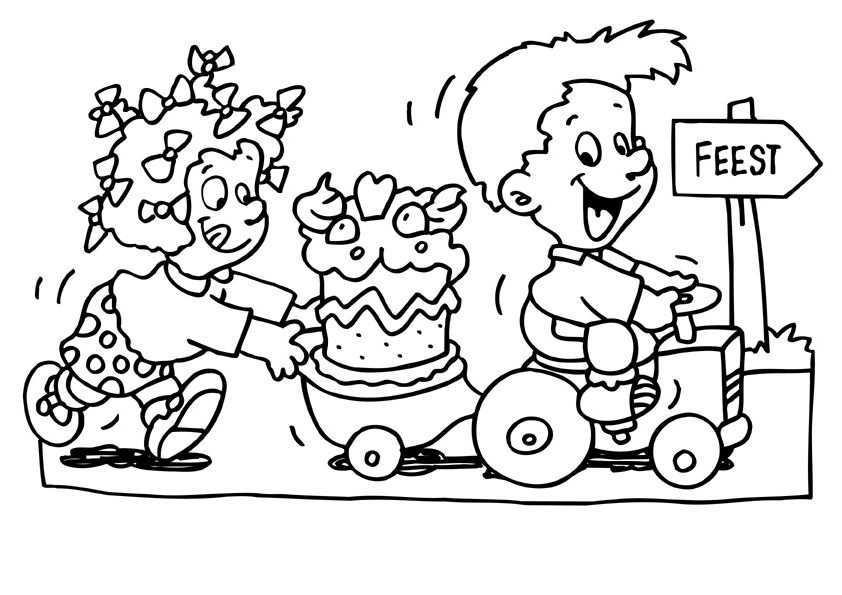 Verjaardag Raai De Kraai Kleurplaat Google Zoeken Kleurplaten Verjaardag Moeder Koe