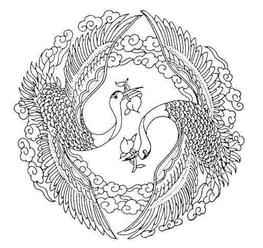 Pin By Mees Vd Gruiter On Tattoo Ideas Phoenix Tattoo Chinese Artwork Batik Art