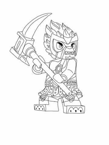 Lego Chima Coloring Page Lego Coloring Pages Lego Coloring Lego Chima