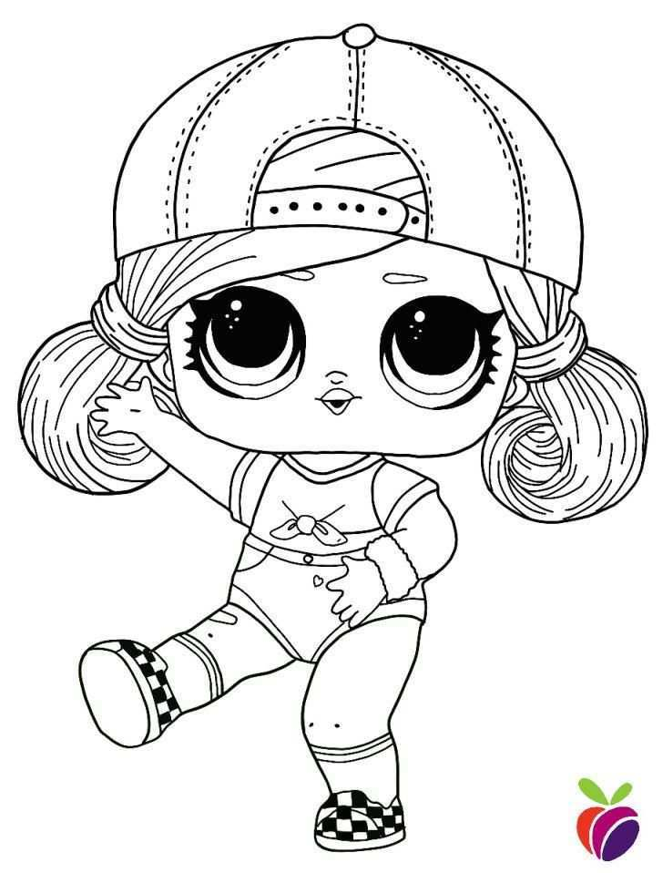 Lol Surprise Hairgoals Series Coloring Page Sk8er Grrrl Cartoon Coloring Pages Cool Coloring Pages Cute Coloring Pages