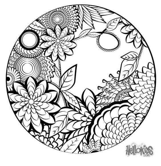 Coloring For Adults Kleuren Voor Volwassenen Zentangles Mandalas Swirls Celtic Knots Pinter Mandala Kleurplaten Mandala Tekeningen Gratis Kleurplaten
