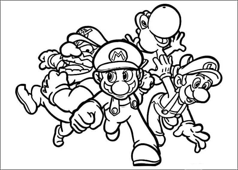 Mario Bros 38 Ausmalbilder Fur Kinder Malvorlagen Zum Ausdrucken Und Ausmalen Lustige Malvorlagen Coole Malvorlagen Ausmalbilder