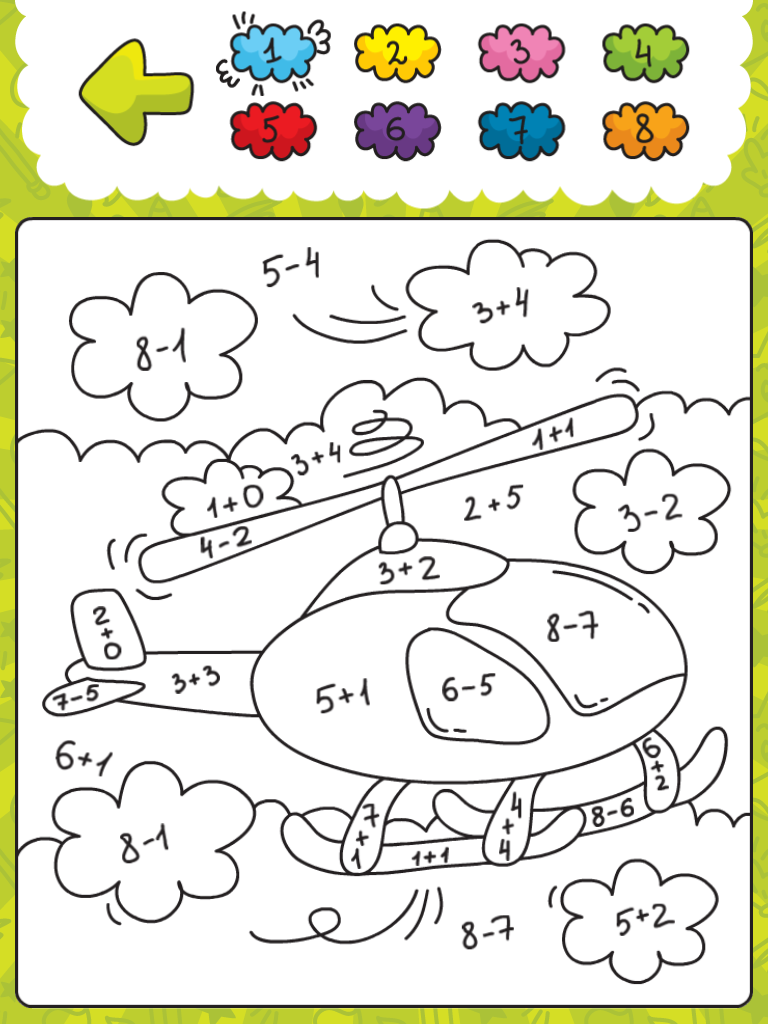 Kleurplaten Met Sommen Optellen En Aftrekken Schoolactiviteiten Werkjes