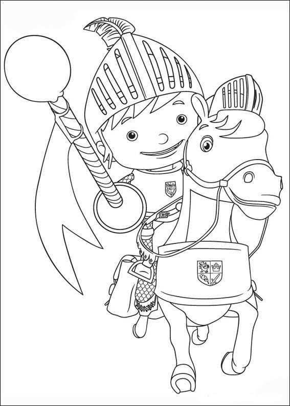 Mike De Ridder Kleurplaten 12 Ridders Dieren Kleurplaten Kleurplaten Voor Kinderen