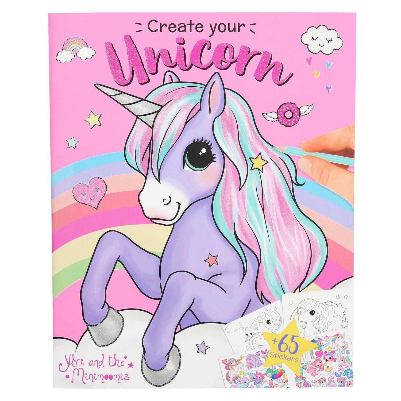 Ylvi Create Your Unicorn Kleur En Stickerboek Kleuren Eenhoorn Tekenen Kleurboek