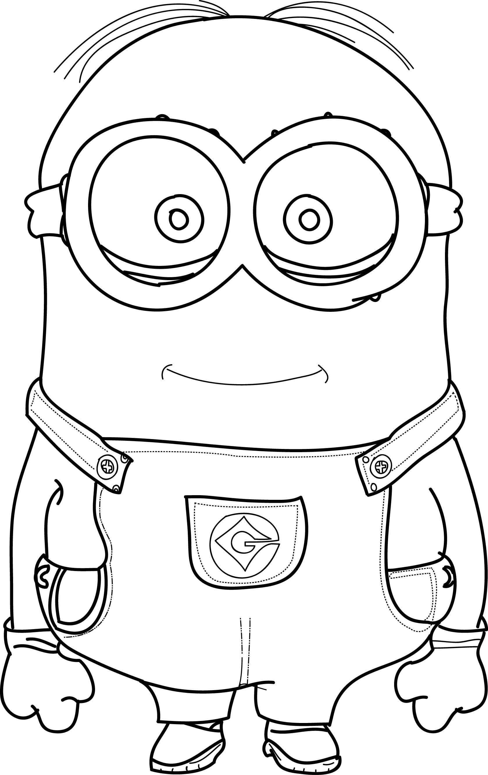 Minions Coloring Pages Wecoloringpage Minions Coloring Pages Cool Coloring Pages Disney Coloring Pages