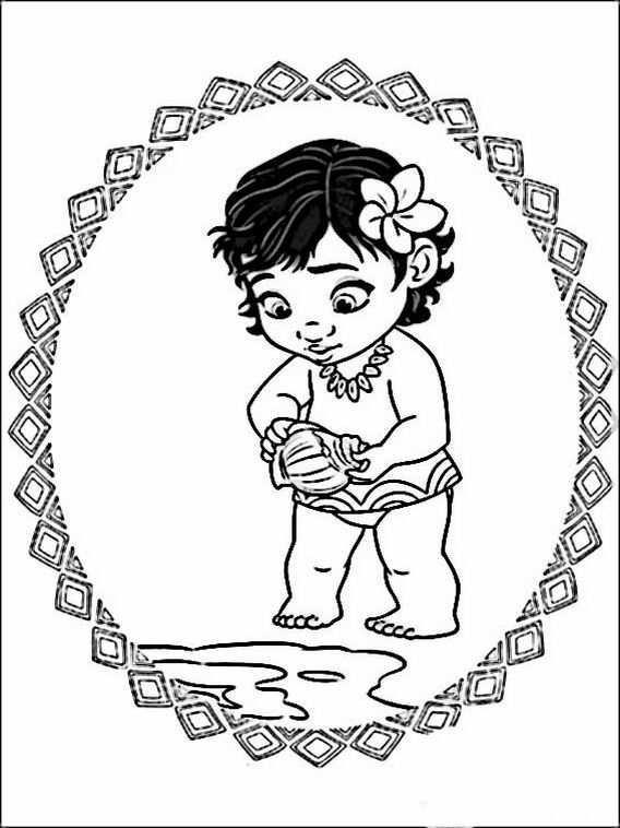 Vaiana Moana Coloring Pages 9 Moana Coloring Pages Moana Coloring Disney Princess Coloring Pages