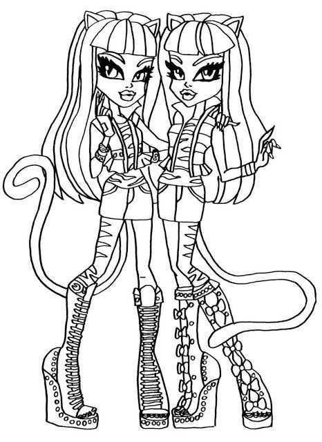 Dibujos Y Plantillas Para Imprimir Monster High Monster High Para Colorear Dibujos De Monster Monster High Para Pintar