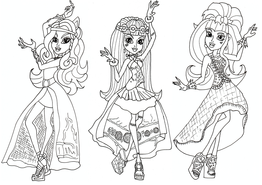 Monster High Coloring Pages Cartoon Coloring Pages Coloring Books Super Coloring Pages