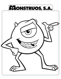 Risultati Immagini Per Monster E Co Da Colorare Tekeningen Disney Figuren Kleurplaten