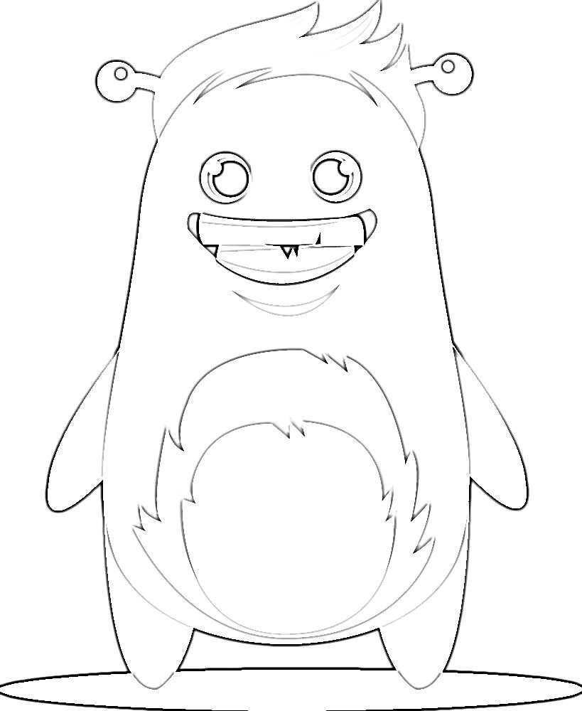 Kleurplaat Classdojo Monster Kleurplaten Monster