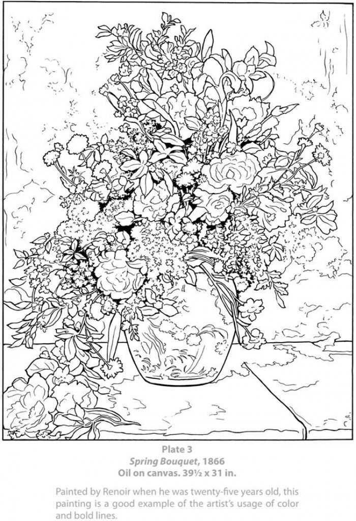 Mooie Kleurplaat Door Xtamaraxx Kleurplaten Renoir Schilderijen Kleurboek