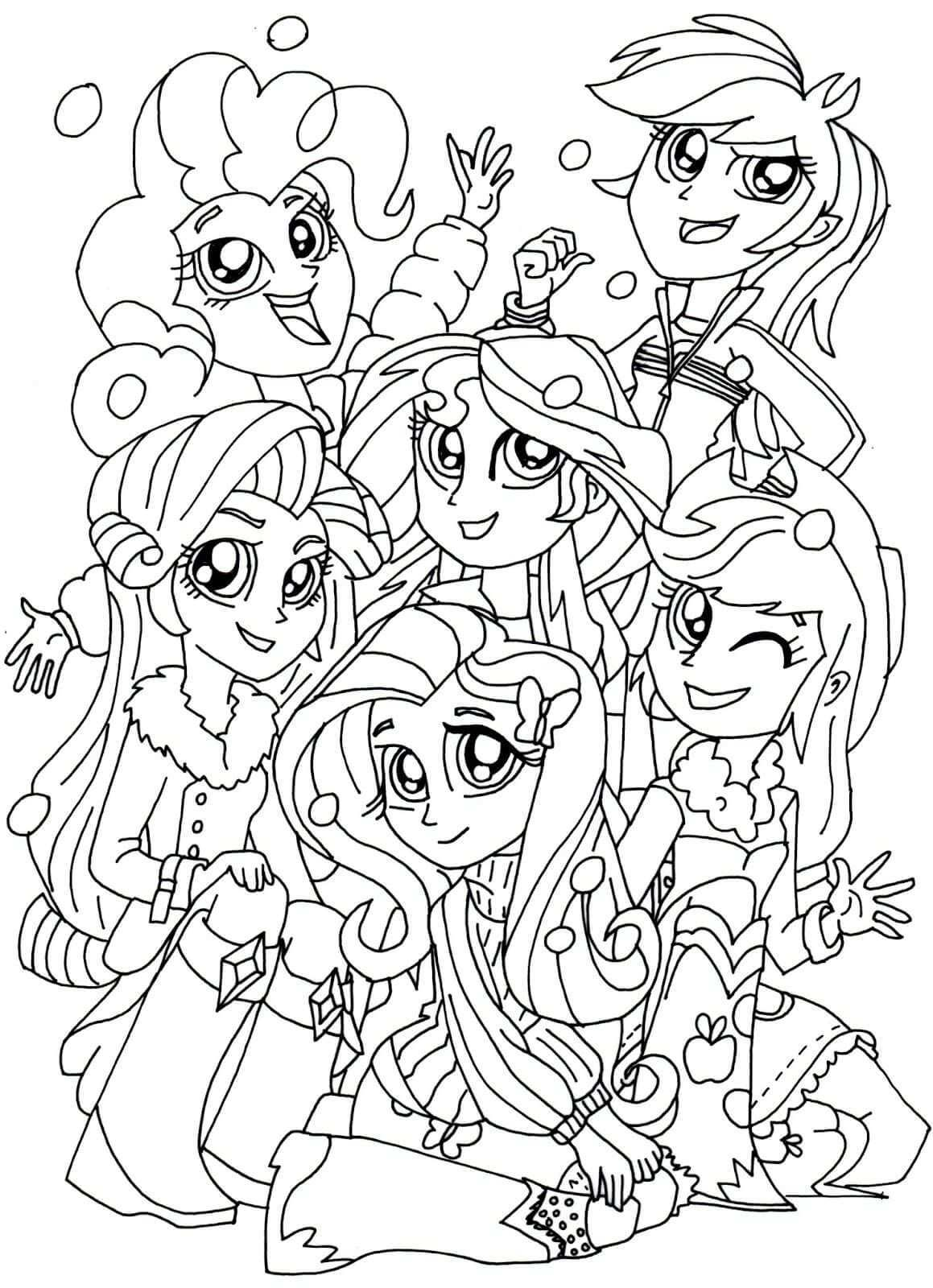 My Little Pony Equestria Girls Coloring Pages My Little Pony Coloring Coloring Pages For Girls My Little Pony Twilight