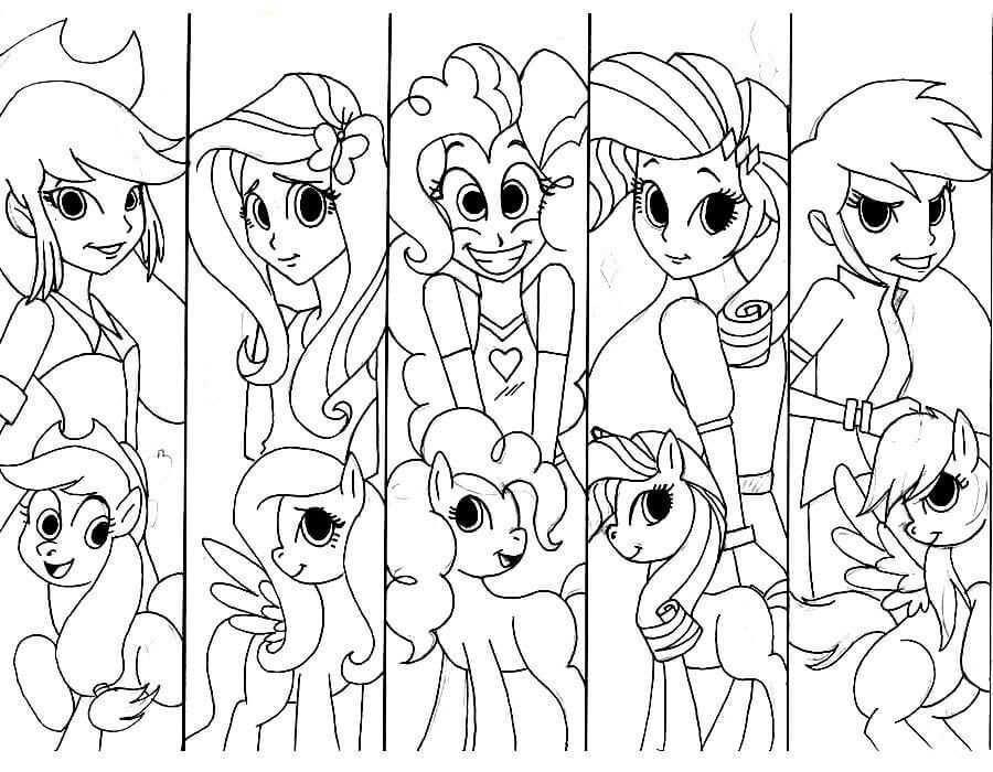 15 Printable My Little Pony Equestria Girls Coloring Pages Coloring Pages For Girls My Little Pony Coloring Coloring Pages Inspirational
