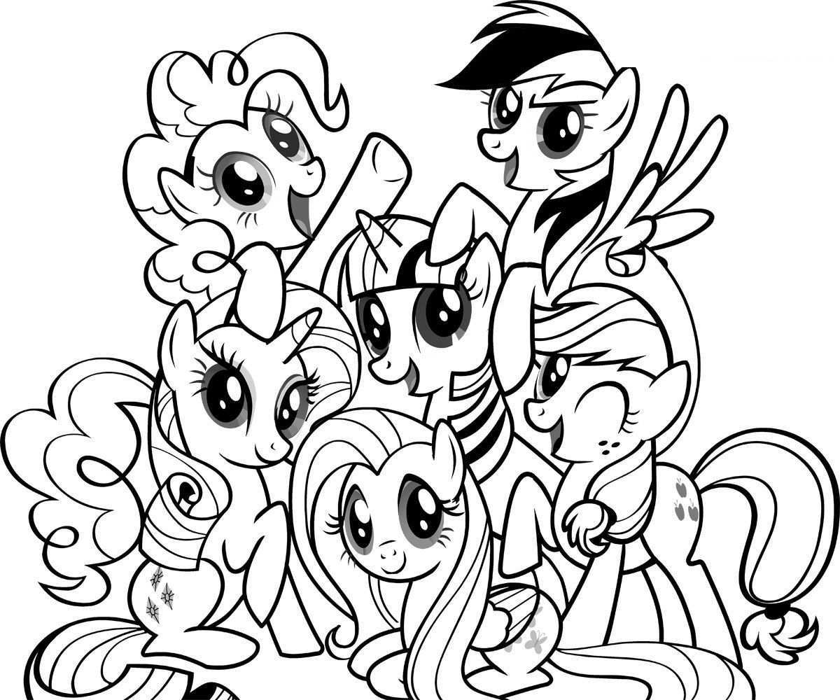 Free Printable My Little Pony Coloring Pages For Kids My Little Pony Coloring My Little Pony Printable Pony Drawing