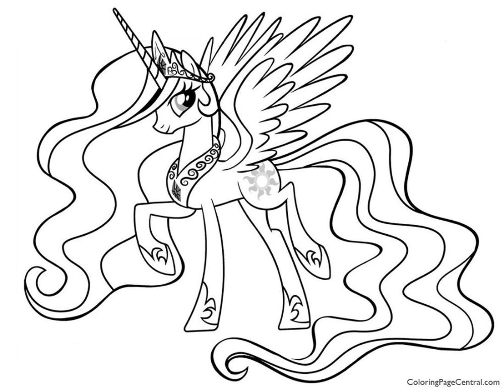 Kleurplaat My Little Pony Zeemeermin Google Zoeken Princesas Para Colorear Princesas