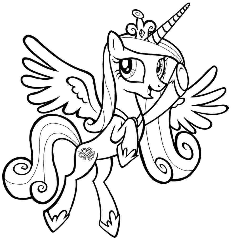 Free Printable My Little Pony Coloring Pages For Kids My Little Pony Coloring My Litt