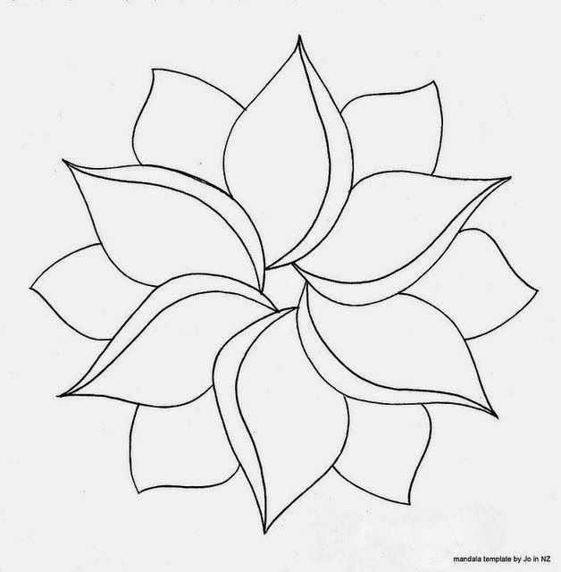 Google Afbeeldingen Resultaat Voor Http Boncoiffeur Com Img Tekeningen Om Na Te Tekenen Makkelijk Bloemen 3 Jpg Mozaiekpatronen Zentangle Mandala Kleurplaten
