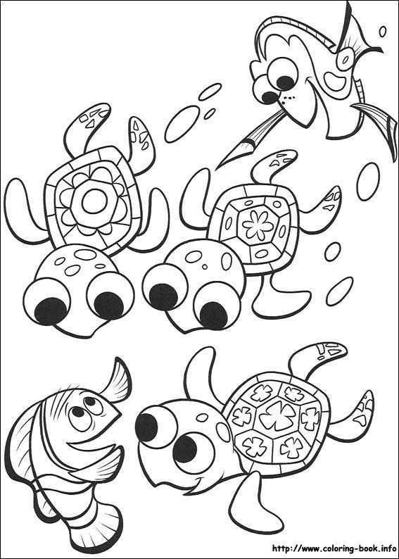 Finding Nemo Coloring Page Kleurplaten Gratis Kleurplaten Kleurplaten Voor Kinderen
